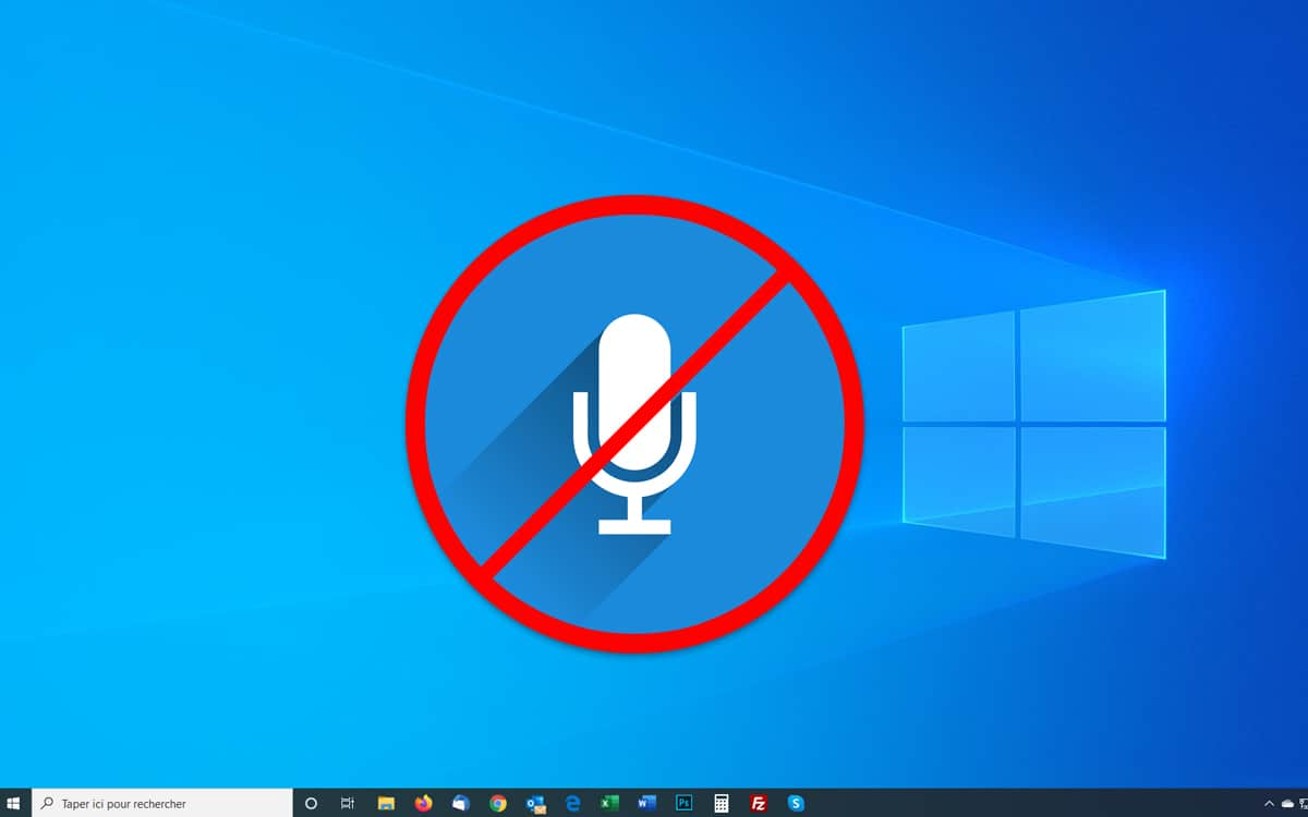 Windows 10 : comment désactiver le micro 3